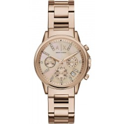 Armani Exchange Damenuhr Lady Banks Chronograph AX4326