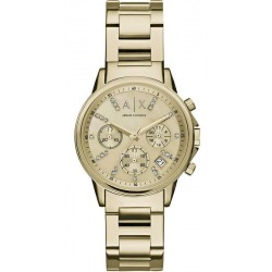 Armani Exchange Damenuhr Lady Banks Chronograph AX4327