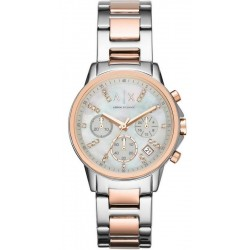 Armani Exchange Damenuhr Lady Banks Chronograph AX4331