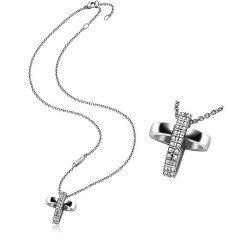 Kaufen Sie Breil Damenhalskette Charming Cross TJ1460