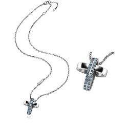 Kaufen Sie Breil Damenhalskette Charming Cross TJ1462