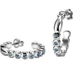 Kaufen Sie Breil Damenohrringe Rolling Diamonds TJ1573