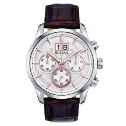 Kaufen Sie Bulova Herrenuhr Sutton Classic Quarz Chronograph 96B309