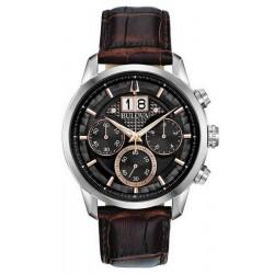 Kaufen Sie Bulova Herrenuhr Sutton Classic Quarz Chronograph 96B311