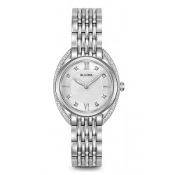 Kaufen Sie Bulova Damenuhr Curv Diamonds 96R212 Quartz