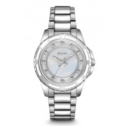 Kaufen Sie Bulova Damenuhr Diamonds 96S144 Quartz