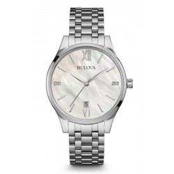 Kaufen Sie Bulova Damenuhr Diamonds 96S161 Quartz