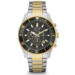 Kaufen Sie Bulova Herrenuhr Marine Star 98B249 Chronograph Quartz