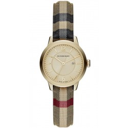 Montre Femme Burberry The Classic Round BU10104