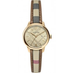 Montre Femme Burberry The Classic Round BU10114