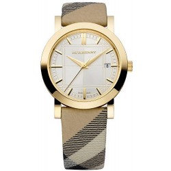 Burberry Damenuhr The City Nova Check BU1398