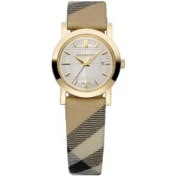 Burberry Damenuhr The City Nova Check BU1399