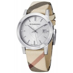 Burberry Damenuhr The City Nova Check BU9113
