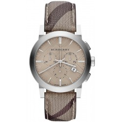 Kaufen Sie Burberry Herrenuhr The City Nova Check BU9361 Chronograph