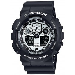 Casio G-Shock Herrenuhr GA-100BW-1AER