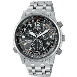 Citizen Herrenuhr Promaster Sky Chrono Pilot Funkuhr Titan AS4050-51E