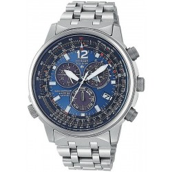 Citizen Herrenuhr Promaster Chrono Eco-Drive Funkuhr Titan AS4050-51L