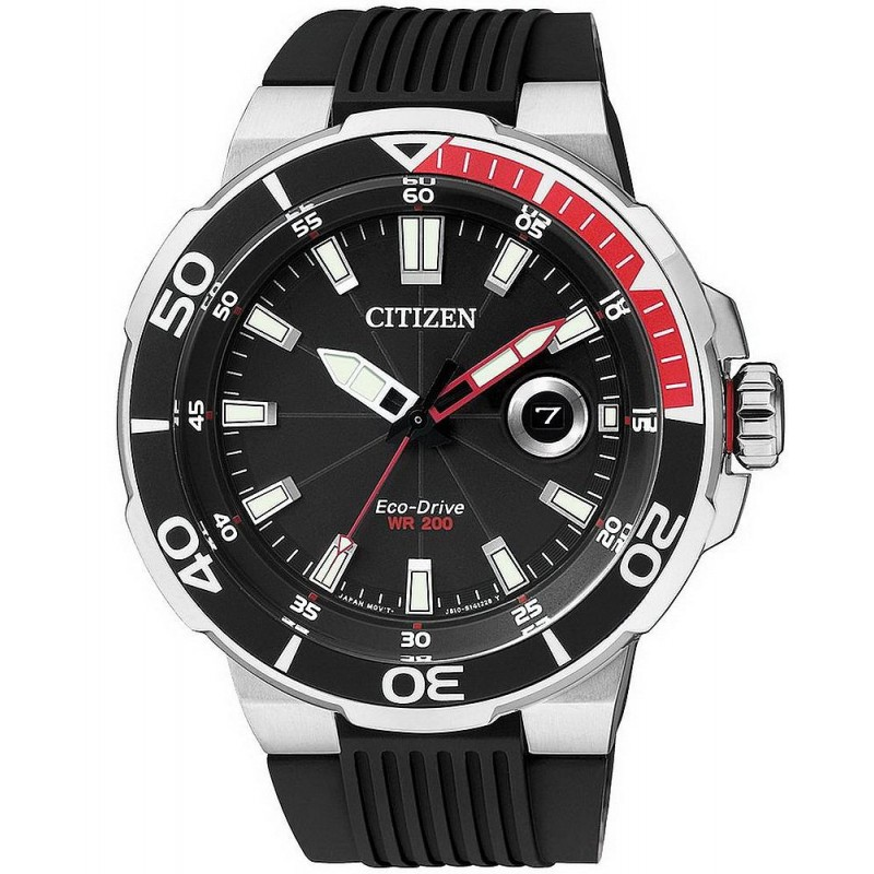low price where can i buy new images of Citizen Herrenuhr Marine Sport Eco-Drive AW1420-04E