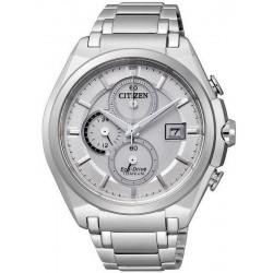 Citizen Herrenuhr Super Titanium Chrono Eco-Drive CA0350-51A