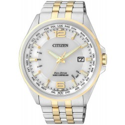 Citizen Herrenuhr Elegant Funkuhr Evolution 5 Eco-Drive CB0016-57A