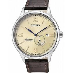 Citizen Herrenuhr Super Titanium Mechanische NJ0090-30P
