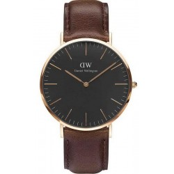 Daniel Wellington Herrenuhr Classic Black Bristol 40MM DW00100125