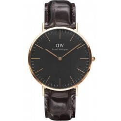 Kaufen Sie Daniel Wellington Herrenuhr Classic Black York 40MM DW00100128