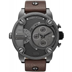 Diesel Herrenuhr Little Daddy Dual Time Chronograph DZ7258