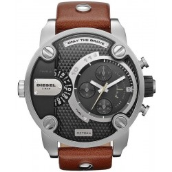 Diesel Herrenuhr Little Daddy DZ7264 Chronograph Dual Time