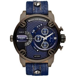 Diesel Herrenuhr Little Daddy DZ7320 Chronograph Dual Time