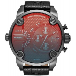 Diesel Herrenuhr Little Daddy Dual Time Chronograph DZ7334