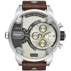 Diesel Herrenuhr Little Daddy DZ7335 Chronograph Dual Time