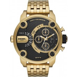 Diesel Herrenuhr Little Daddy DZ7412 Dual Time Chronograph