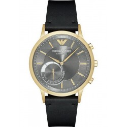Emporio Armani Connected Herrenuhr Renato ART3006 Hybrid Smartwatch