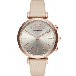 Kaufen Sie Emporio Armani Connected Damenuhr Gianni T-Bar ART3020 Hybrid Smartwatch