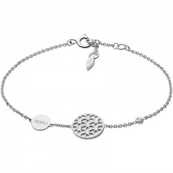 Fossil Damenarmband Sterling Silver JFS00463040