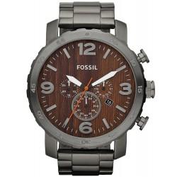 Fossil Herrenuhr Nate Quarz Chronograph JR1355