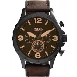 Fossil Herrenuhr Nate JR1487 Quarz Chronograph
