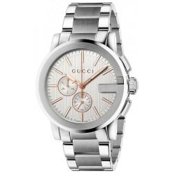 Kaufen Sie Gucci Herrenuhr G-Chrono XL YA101201 Quarz Chronograph