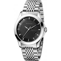 Kaufen Sie Gucci Unisexuhr G-Timeless Medium YA126402 Quartz