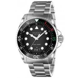 Gucci Herrenuhr Dive XL YA136208 Quartz