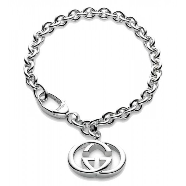 Kaufen Sie Gucci Damenarmband Silver Britt YBA190501001019