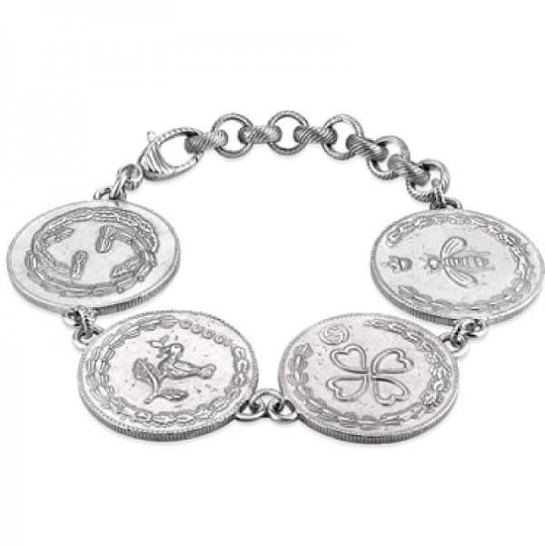 Kaufen Sie Gucci Damenarmband Coin YBA432179001018