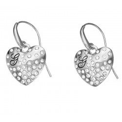 Kaufen Sie Guess Damenohrringe Glossy Hearts UBE51433