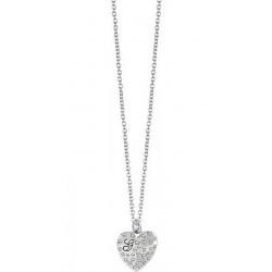 Guess Damenhalskette Glossy Hearts UBN51471
