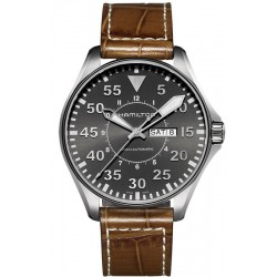 Hamilton Herrenuhr Khaki Aviation Pilot Day Date Auto H64715885