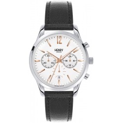 Henry London Unisexuhr Highgate Quarz Chronograph HL39-CS-0009