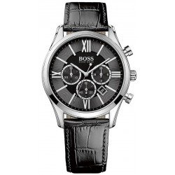 Kaufen Sie Hugo Boss Herrenuhr Ambassador Quarz Chronograph 1513194
