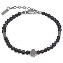 Kaufen Sie Jack & Co Herrenarmband Cross-Over JUB0005