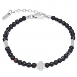 Kaufen Sie Jack & Co Herrenarmband Cross-Over JUB0006